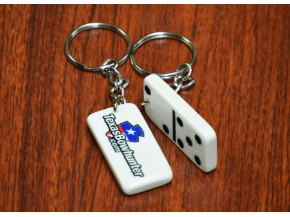 Custom Domino Key Chain