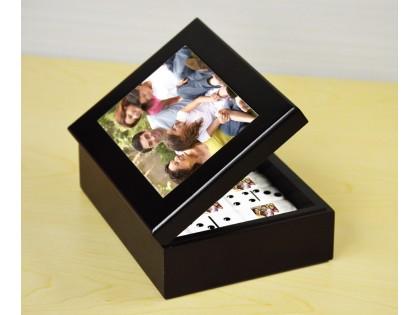Printed Picture Wooden Case