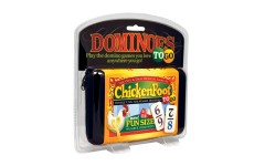 Chickenfoot To Go Domino set