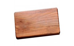 Walnut Case for PROFESSIONAL Size Double 6 Dominoes